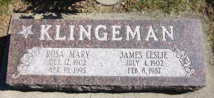KLINGEMAN, ROSA MARY - Sarpy County, Nebraska | ROSA MARY KLINGEMAN - Nebraska Gravestone Photos