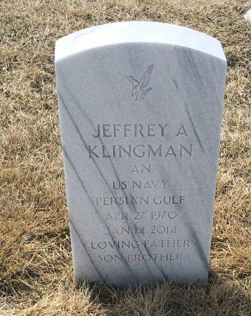 KLINGMAN, JEFFREY - Sarpy County, Nebraska | JEFFREY KLINGMAN - Nebraska Gravestone Photos