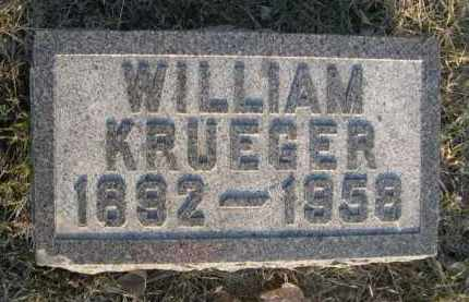 KRUEGER, WILLIAM - Sarpy County, Nebraska | WILLIAM KRUEGER - Nebraska Gravestone Photos