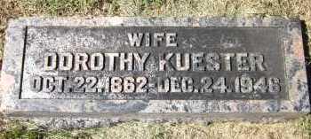 KUESTER, DOROTHY - Sarpy County, Nebraska | DOROTHY KUESTER - Nebraska Gravestone Photos