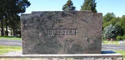 KUESTER, FAMILY - Sarpy County, Nebraska | FAMILY KUESTER - Nebraska Gravestone Photos
