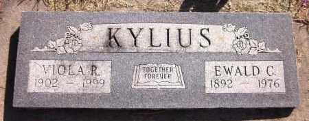 KYLIUS, VIOLA R. - Sarpy County, Nebraska   VIOLA R. KYLIUS - Nebraska Gravestone Photos