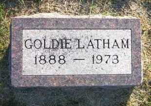 LATHAM, GOLDIE - Sarpy County, Nebraska | GOLDIE LATHAM - Nebraska Gravestone Photos