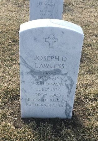 LAWLESS, JOSEPH - Sarpy County, Nebraska   JOSEPH LAWLESS - Nebraska Gravestone Photos