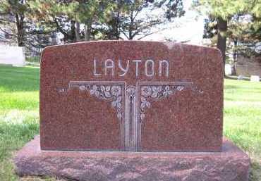 LAYTON, FAMILY - Sarpy County, Nebraska   FAMILY LAYTON - Nebraska Gravestone Photos