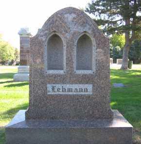 LEHMANN, FAMILY - Sarpy County, Nebraska | FAMILY LEHMANN - Nebraska Gravestone Photos