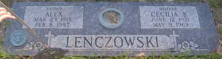 LENCZOWSKI, ALEX - Sarpy County, Nebraska   ALEX LENCZOWSKI - Nebraska Gravestone Photos