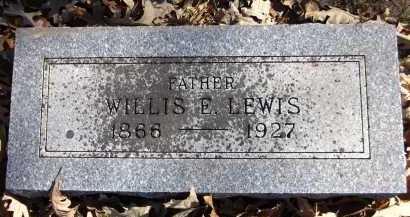 LEWIS, WILLIS E. - Sarpy County, Nebraska   WILLIS E. LEWIS - Nebraska Gravestone Photos