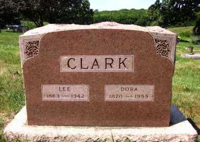 CLARK, DORA - Sarpy County, Nebraska | DORA CLARK - Nebraska Gravestone Photos