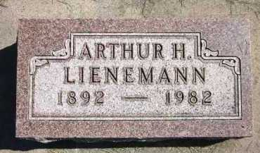 LIENEMANN, ARTHUR H. - Sarpy County, Nebraska | ARTHUR H. LIENEMANN - Nebraska Gravestone Photos