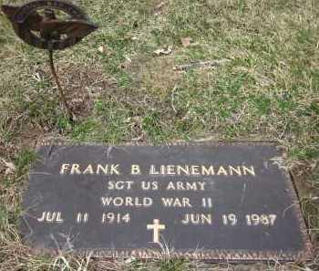 LIENEMANN, FRANK B. - Sarpy County, Nebraska | FRANK B. LIENEMANN - Nebraska Gravestone Photos