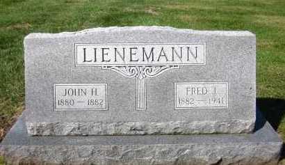 LIENEMANN, FRED J. - Sarpy County, Nebraska | FRED J. LIENEMANN - Nebraska Gravestone Photos