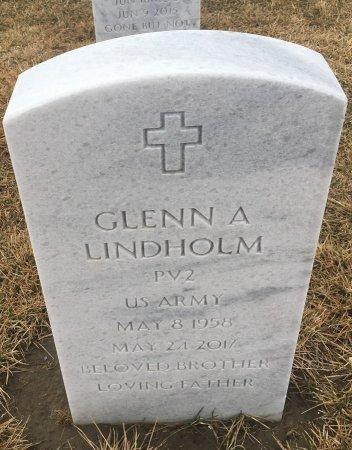LINDHOLM, GLENN - Sarpy County, Nebraska | GLENN LINDHOLM - Nebraska Gravestone Photos