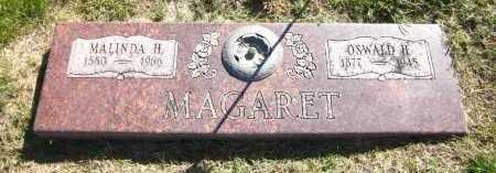 MAGARET, MALINDA H. - Sarpy County, Nebraska | MALINDA H. MAGARET - Nebraska Gravestone Photos