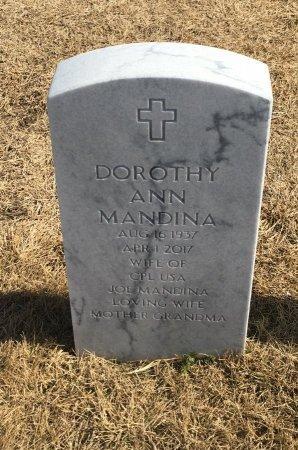 MANDINA, DOROTHY - Sarpy County, Nebraska   DOROTHY MANDINA - Nebraska Gravestone Photos