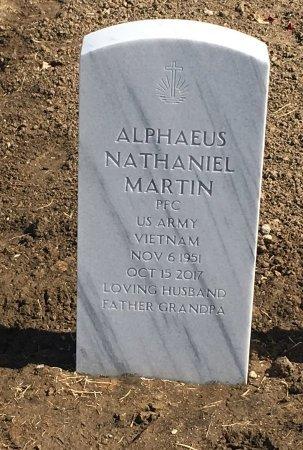 MARTIN, ALPHAEUS - Sarpy County, Nebraska | ALPHAEUS MARTIN - Nebraska Gravestone Photos