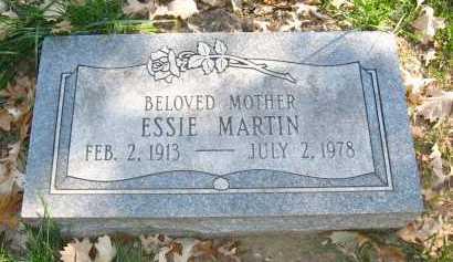 MARTIN, ESSIE - Sarpy County, Nebraska   ESSIE MARTIN - Nebraska Gravestone Photos