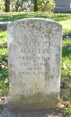 MARTIN, WALTER R. - Sarpy County, Nebraska | WALTER R. MARTIN - Nebraska Gravestone Photos