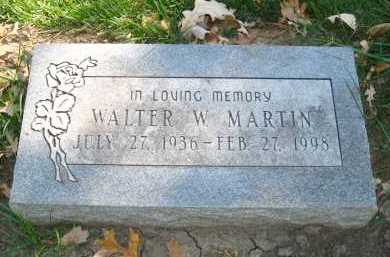 MARTIN, WALTER W. - Sarpy County, Nebraska | WALTER W. MARTIN - Nebraska Gravestone Photos