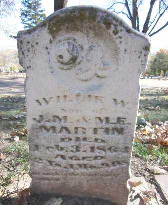 MARTIN, WILLIE W. - Sarpy County, Nebraska | WILLIE W. MARTIN - Nebraska Gravestone Photos