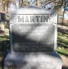 MARTIN, WILLIAM W. - Sarpy County, Nebraska | WILLIAM W. MARTIN - Nebraska Gravestone Photos