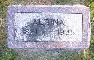 MEISINGER, ALBINA - Sarpy County, Nebraska | ALBINA MEISINGER - Nebraska Gravestone Photos