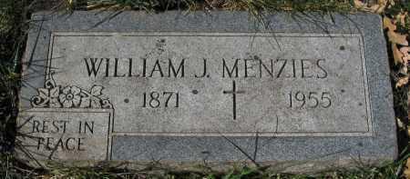 MENZIES, WILLIAM J. - Sarpy County, Nebraska | WILLIAM J. MENZIES - Nebraska Gravestone Photos