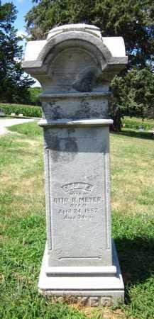 MEYER, ELLA E. - Sarpy County, Nebraska | ELLA E. MEYER - Nebraska Gravestone Photos
