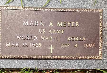 MEYER, MARK - Sarpy County, Nebraska   MARK MEYER - Nebraska Gravestone Photos