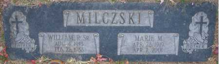 MILCZSKI SR., WILLIAM R. - Sarpy County, Nebraska | WILLIAM R. MILCZSKI SR. - Nebraska Gravestone Photos