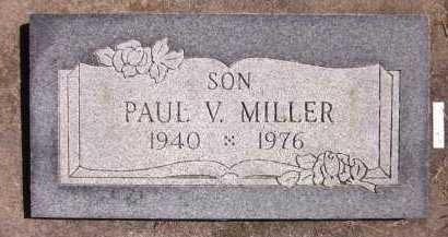 MILLER, PAUL V. - Sarpy County, Nebraska | PAUL V. MILLER - Nebraska Gravestone Photos