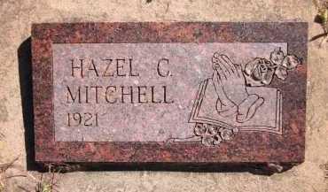 MITCHELL, HAZEL C. - Sarpy County, Nebraska   HAZEL C. MITCHELL - Nebraska Gravestone Photos