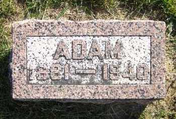 MOHR, ADAM - Sarpy County, Nebraska   ADAM MOHR - Nebraska Gravestone Photos