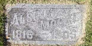 MOORE, ALSINA - Sarpy County, Nebraska | ALSINA MOORE - Nebraska Gravestone Photos