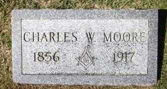 MOORE, CHARLES W. - Sarpy County, Nebraska | CHARLES W. MOORE - Nebraska Gravestone Photos