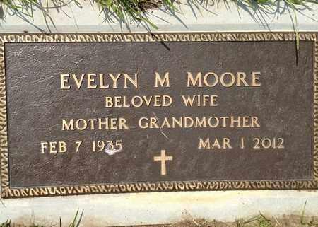 MOORE, EVELYN - Sarpy County, Nebraska   EVELYN MOORE - Nebraska Gravestone Photos