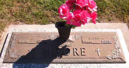 MOORE, GLENN A. - Sarpy County, Nebraska | GLENN A. MOORE - Nebraska Gravestone Photos