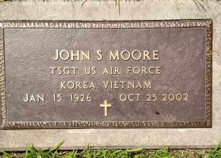 MOORE, JOHN - Sarpy County, Nebraska   JOHN MOORE - Nebraska Gravestone Photos