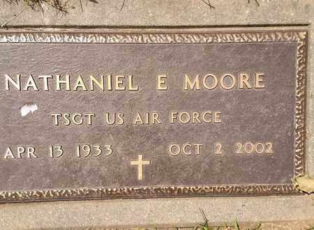 MOORE, NATHANIEL - Sarpy County, Nebraska   NATHANIEL MOORE - Nebraska Gravestone Photos