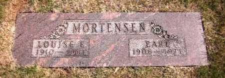 MORTENSEN, EARL - Sarpy County, Nebraska | EARL MORTENSEN - Nebraska Gravestone Photos