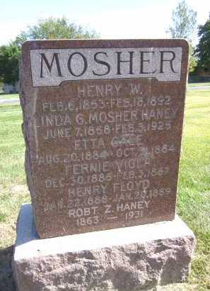 MOSHER HANEY, LINDA G. - Sarpy County, Nebraska | LINDA G. MOSHER HANEY - Nebraska Gravestone Photos