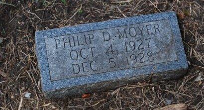 MOYER, PHILIP DAVID - Sarpy County, Nebraska | PHILIP DAVID MOYER - Nebraska Gravestone Photos