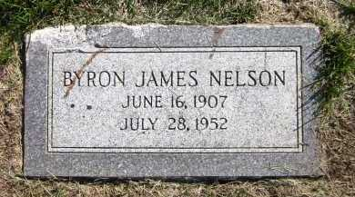 NELSON, BYRON JAMES - Sarpy County, Nebraska | BYRON JAMES NELSON - Nebraska Gravestone Photos