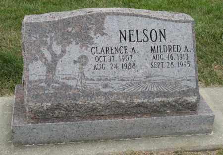 NELSON, CLARENCE A. - Sarpy County, Nebraska | CLARENCE A. NELSON - Nebraska Gravestone Photos