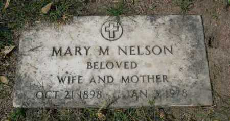 NELSON, MARY M. - Sarpy County, Nebraska | MARY M. NELSON - Nebraska Gravestone Photos