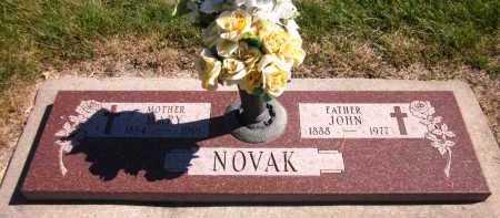 NOVAK, MARY - Sarpy County, Nebraska | MARY NOVAK - Nebraska Gravestone Photos