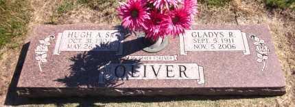 OLIVER, HUGH A. SR. - Sarpy County, Nebraska | HUGH A. SR. OLIVER - Nebraska Gravestone Photos