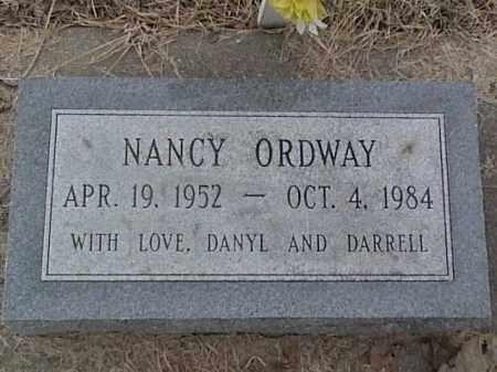 ORDWAY, NANCY - Sarpy County, Nebraska | NANCY ORDWAY - Nebraska Gravestone Photos