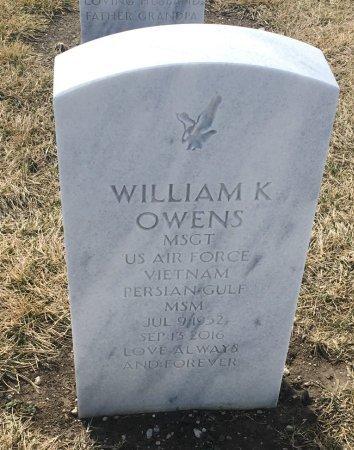 OWENS, WILLIAM - Sarpy County, Nebraska | WILLIAM OWENS - Nebraska Gravestone Photos