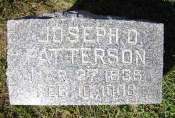 PATTERSON, JOSEPH D. - Sarpy County, Nebraska | JOSEPH D. PATTERSON - Nebraska Gravestone Photos